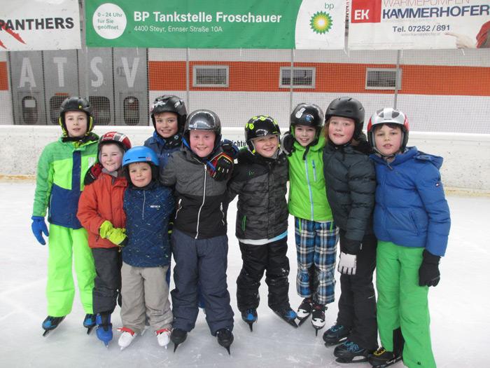 Eislaufen 1. und 4. Klasse